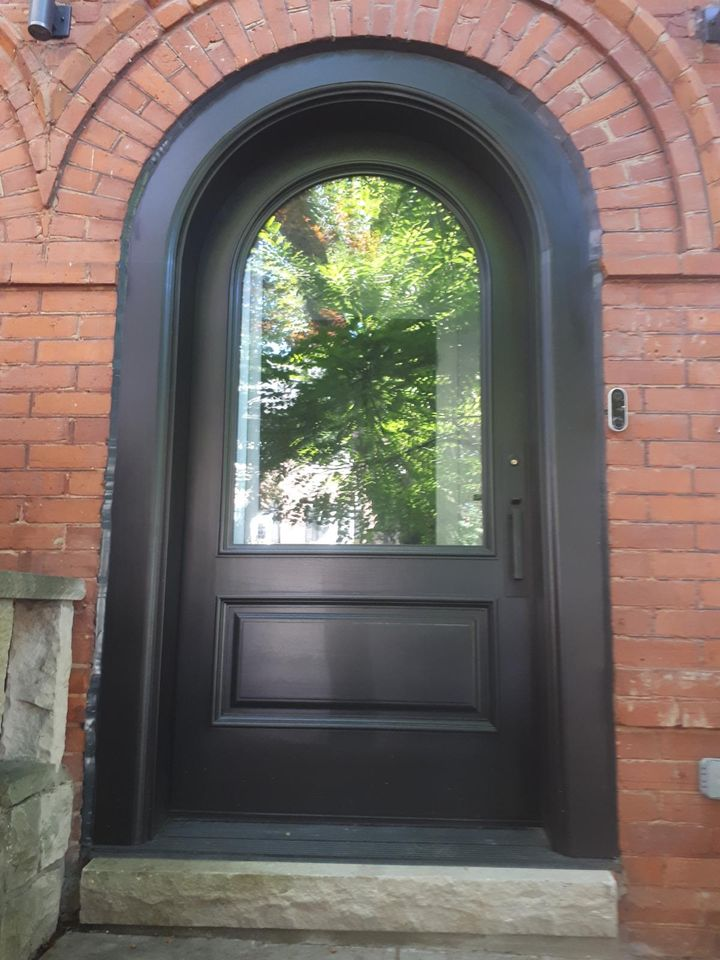 """""""Beauty is the harmony of function and form."""" #SolidWood, #Doors, #Wood, #Mahogany, #CustomMadeDoors, #DoorSupplier, #ExteriorDoors, #InteriorDoors #DoorManufacturer, #EntryDoors. #Woodwork, #MadeinCanada, #DistinctiveLook, #FityourHome Made by #NorthwoodDoorsInc. Your best value and quality, #HandCraftedDoors. Every door manufactured by us has our corporate stamp - a testament to our dedication and passion in woodwork. Let #NorthwoodDoorsInc. add to your home's #CurbAppeal by enhancing the quality and beauty of your #EntryDoors. Visit our #Showroom to envision how one of our many #doors on display might look like at your #Home. Contact us today Tel. 416-253-2034, info@northwooddoors.com, www.northwooddoor.com — in Toronto, Ontario"""