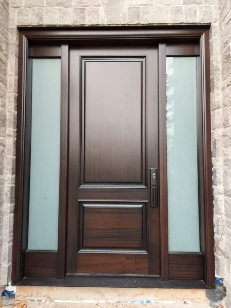 """""""Quality is do it right when no one is looking."""" #SolidWood, #Doors, #Wood, #Mahogany, #CustomMadeDoors, #DoorSupplier, #ExteriorDoors, #InteriorDoors #DoorManufacturer, #EntryDoors. #Woodwork, #MadeinCanada, #DistinctiveLook, #FityourHome Made by #NorthwoodDoorsInc. Your best value and quality, #HandCraftedDoors. Every door manufactured by us has our corporate stamp - a testament to our dedication and passion in woodwork. Let #NorthwoodDoorsInc. add to your home's #CurbAppeal by enhancing the quality and beauty of your #EntryDoors. Visit our #Showroom to envision how one of our many #doors on display might look like at your #Home.#interiordoor, #millwork #trim, #baseboard, #moulding, #doorstop, #doorjamb. Contact us today Tel. 416-253-2034, info@northwooddoors.com, www.northwooddoor.com — in Toronto, Ontario"""