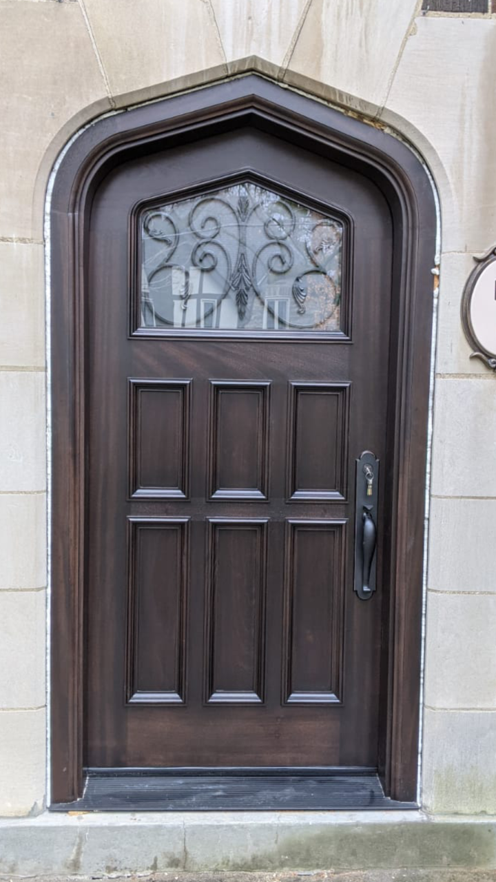"""""""Brilliant things happen in calm minds."""" #SolidWood, #Doors, #Wood, #Mahogany, #CustomMadeDoors, #DoorSupplier, #ExteriorDoors, #InteriorDoors #DoorManufacturer, #EntryDoors. #Woodwork, #MadeinCanada, #DistinctiveLook, #FityourHome Made by #NorthwoodDoorsInc. Your best value and quality, #HandCraftedDoors. Every door manufactured by us has our corporate stamp - a testament to our dedication and passion in woodwork. Let #NorthwoodDoorsInc. add to your home's #CurbAppeal by enhancing the quality and beauty of your #EntryDoors. Visit our #Showroom to envision how one of our many #doors on display might look like at your #Home.#interiordoor, #millwork #trim, #baseboard, #moulding, #doorstop, #doorjamb. Contact us today Tel. 416-253-2034, info@northwooddoors.com, www.northwooddoor.com — in Toronto, Ontario"""