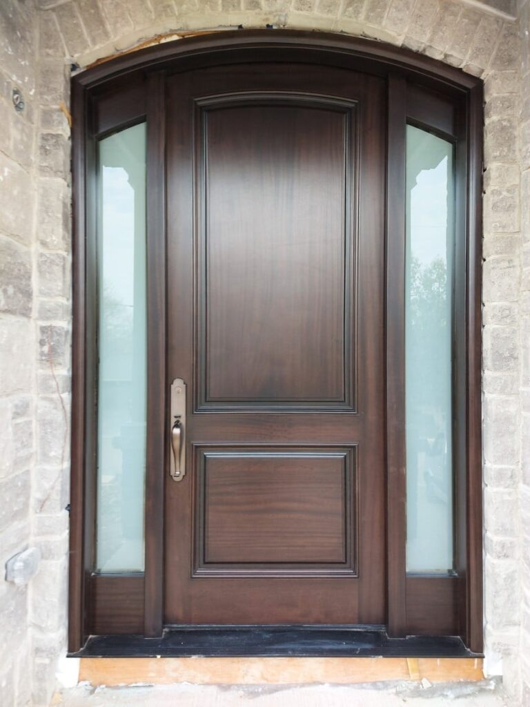 """""""Home is where your story begins."""" #SolidWood, #Doors, #Wood, #Mahogany, #CustomMadeDoors, #DoorSupplier, #ExteriorDoors, #InteriorDoors #DoorManufacturer, #EntryDoors. #Woodwork, #MadeinCanada, #DistinctiveLook, #FityourHome Made by #NorthwoodDoorsInc. Your best value and quality, #HandCraftedDoors. Every door manufactured by us has our corporate stamp - a testament to our dedication and passion in woodwork. Let #NorthwoodDoorsInc. add to your home's #CurbAppeal by enhancing the quality and beauty of your #EntryDoors. Visit our #Showroom to envision how one of our many #doors on display might look like at your #Home.#interiordoor, #millwork #trim, #baseboard, #moulding, #doorstop, #doorjamb. Contact us today Tel. 416-253-2034, info@northwooddoors.com, www.northwooddoor.com — in Toronto, Ontario"""