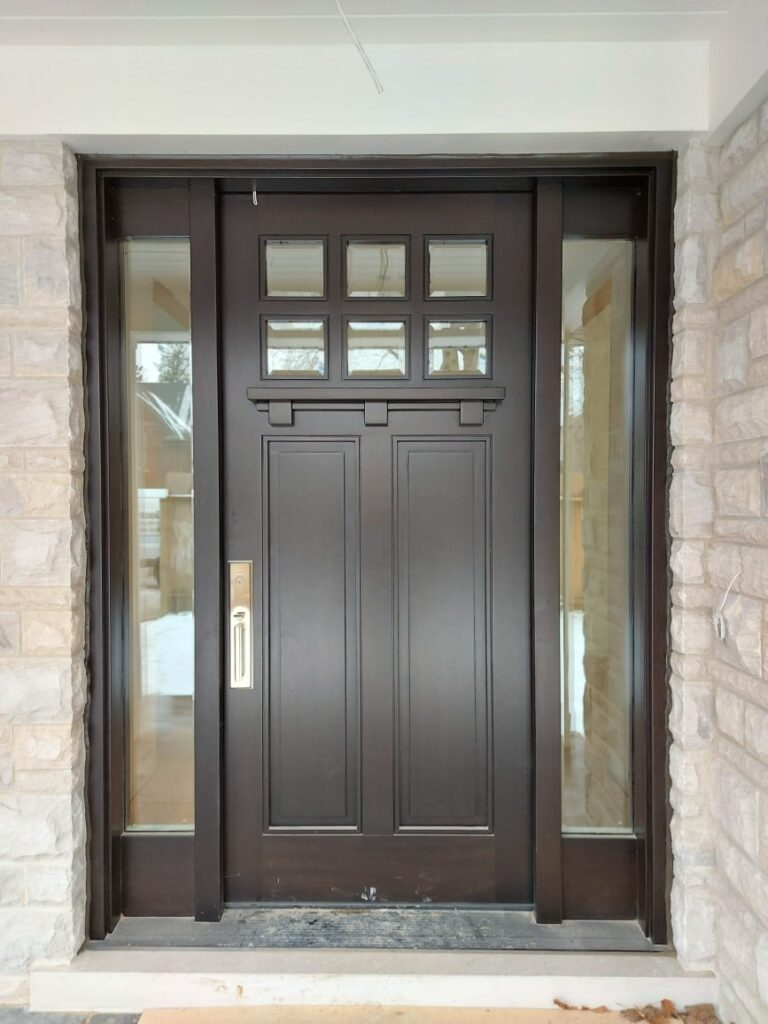 """""""If you think it's expensive to hire a professional, wait until you hire an amateur."""" #SolidWood, #Doors, #Wood, #Mahogany, #CustomMadeDoors, #DoorSupplier, #ExteriorDoors, #InteriorDoors #DoorManufacturer, #EntryDoors. #Woodwork, #MadeinCanada, #DistinctiveLook, #FityourHome Made by #NorthwoodDoorsInc. Your best value and quality, #HandCraftedDoors. Every door manufactured by us has our corporate stamp - a testament to our dedication and passion in woodwork. Let #NorthwoodDoorsInc. add to your home's #CurbAppeal by enhancing the quality and beauty of your #EntryDoors. Visit our #Showroom to envision how one of our many #doors on display might look like at your #Home.#interiordoor, #millwork #trim, #baseboard, #moulding, #doorstop, #doorjamb. Contact us today Tel. 416-253-2034, info@northwooddoors.com, www.northwooddoor.com — in Toronto, Ontario"""