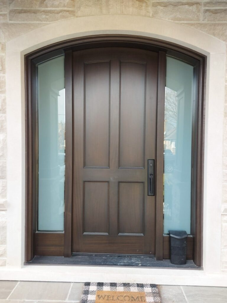 """""""Direction is so much more important than speed. Many are going nowhere fast."""" #SolidWood, #Doors, #Wood, #Mahogany, #CustomMadeDoors, #DoorSupplier, #ExteriorDoors, #InteriorDoors #DoorManufacturer, #EntryDoors. #Woodwork, #MadeinCanada, #DistinctiveLook, #FityourHome Made by #NorthwoodDoorsInc. Your best value and quality, #HandCraftedDoors. Every door manufactured by us has our corporate stamp - a testament to our dedication and passion in woodwork. Let #NorthwoodDoorsInc. add to your home #CurbAppeal by enhancing the quality and beauty of your #EntryDoors. Visit our #Showroom to envision how one of our many #doors on display might look like at your #Home.#interiordoor, #millwork #trim, #baseboard, #moulding, #doorstop, #doorjamb. Contact us today Tel. 416-253-2034, info@northwooddoors.com, www.northwooddoor.com — in Toronto, Ontario"""