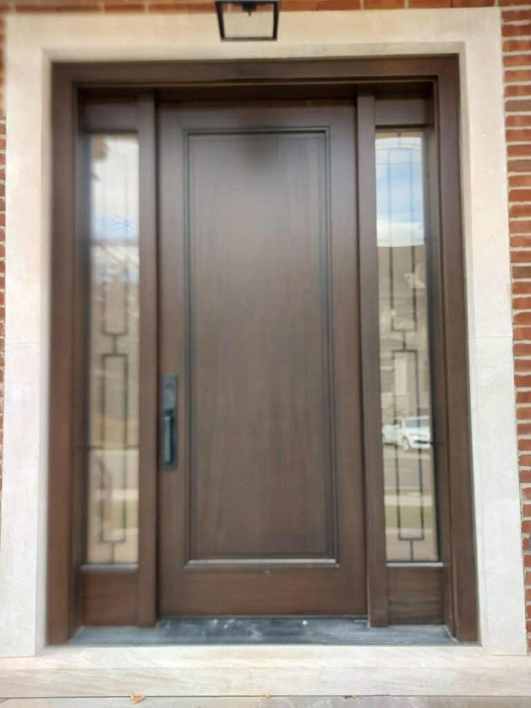 """""""Successes is not a destination it's a journey."""" #SolidWood, #Doors, #Wood, #Mahogany, #CustomMadeDoors, #DoorSupplier, #ExteriorDoors, #InteriorDoors #DoorManufacturer, #EntryDoors. #Woodwork, #MadeinCanada, #DistinctiveLook, #FityourHome Made by #NorthwoodDoorsInc. Your best value and quality, #HandCraftedDoors. Every door manufactured by us has our corporate stamp - a testament to our dedication and passion in woodwork. Let #NorthwoodDoorsInc. add to your home #CurbAppeal by enhancing the quality and beauty of your #EntryDoors. Visit our #Showroom to envision how one of our many #doors on display might look like at your #Home.#interiordoor, #millwork #trim, #baseboard, #moulding, #doorstop, #doorjamb. Contact us today Tel. 416-253-2034, info@northwooddoors.com, www.northwooddoor.com — in Toronto, Ontario"""
