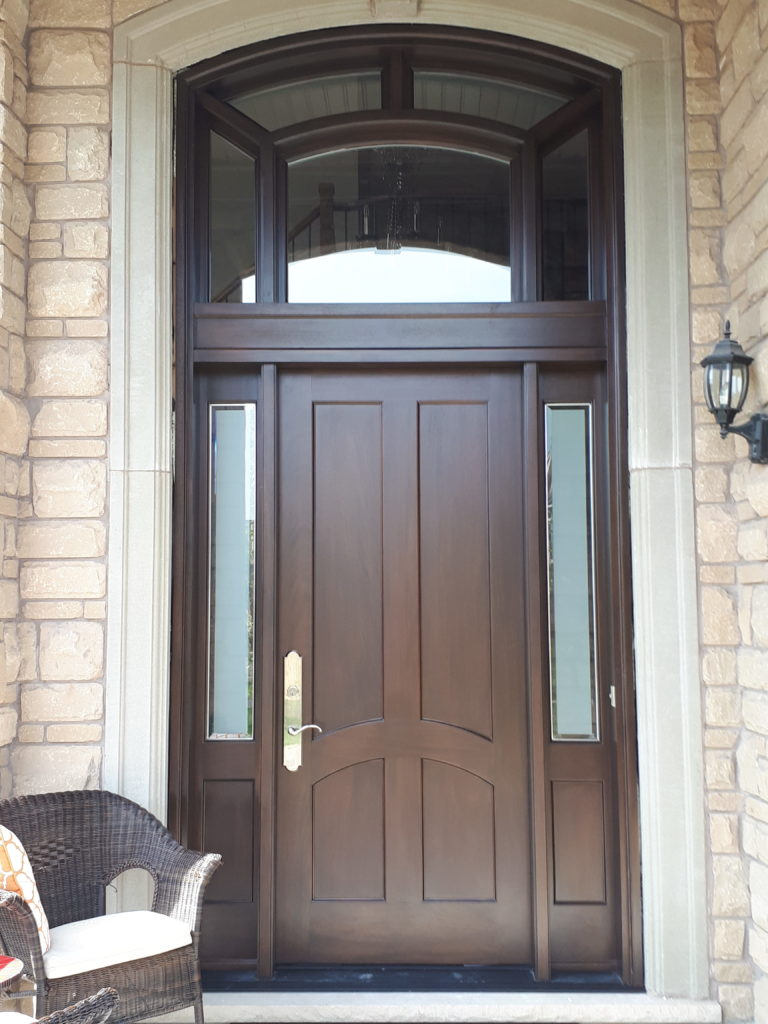 Eyecatching#SolidWood, #Mahogany, #CustomMade, #EntryDoor.#DistinctiveLook, #FityourHome Made by #NorthwoodDoors.