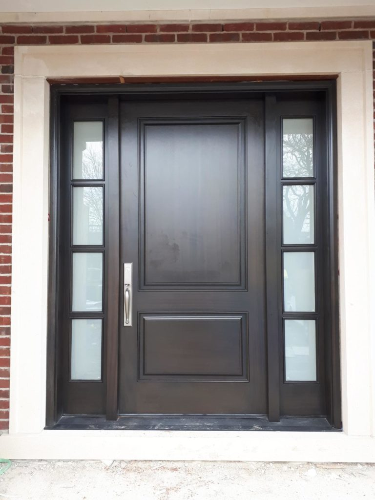 """Every time you do a good job, you polish yourself one more time"" #SolidWood, #Doors, #Wood #Mahogany, #CustomMadeDoors, #EntryDoors.#DistinctiveLo­ok, #FityourHome Made by #NorthwoodDoorsInc. Your best value and quality, #HandCraftedDoors. Every door #Manifactured by us has our corporate stamp - a testament to our dedication and passion in #Woodwork. Let #NorthwoodDoorsInc. add to your home's #CurbAppeal by enhancing the quality and beauty of your #EntryDoors. Visit our #Showroom to envision how one of our many #doors on display might look like at your #Home. Contact us today Tel. 416-253-2034, info@northwooddoors.com, www.northwooddoor.com — in Toronto, Ontario"