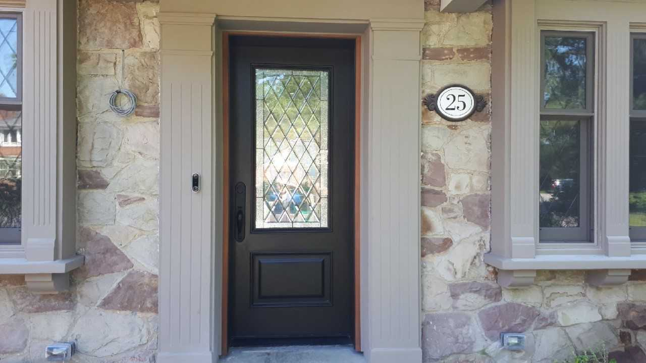 """Simplicity is the keynote of all true Elegance"" #SolidWood, #Doors, #Wood #Mahogany, #CustomMadeDoors, #EntryDoors.#DistinctiveLo­ok, #FityourHome Made by #NorthwoodDoorsInc. Your best value and quality, #HandCraftedDoors. Every door #Manifactured by us has our corporate stamp - a testament to our dedication and passion in #Woodwork. Let #NorthwoodDoorsInc. add to your home's #CurbAppeal by enhancing the quality and beauty of your #EntryDoors. Visit our #Showroom to envision how one of our many #doors on display might look like at your #Home. Contact us today Tel. 416-253-2034, info@northwooddoors.com, www.northwooddoor.com — in Toronto, Ontario."