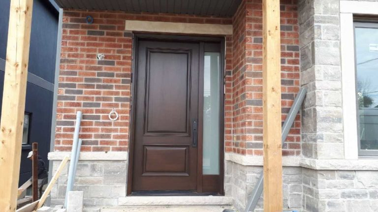 """Nobody who ever gave his best regretted it"" #SolidWood, #Doors, #Wood #Mahogany, #CustomMadeDoors, #EntryDoors.#DistinctiveLo­ok, #FityourHome Made by #NorthwoodDoorsInc. Your best value and quality, #HandCraftedDoors. Every door #Manifactured by us has our corporate stamp - a testament to our dedication and passion in #Woodwork. Let #NorthwoodDoorsInc. add to your home's #CurbAppeal by enhancing the quality and beauty of your #EntryDoors. Visit our #Showroom to envision how one of our many #doors on display might look like at your #Home. Contact us today Tel. 416-253-2034, info@northwooddoors.com, www.northwooddoor.com — in Toronto, Ontario"