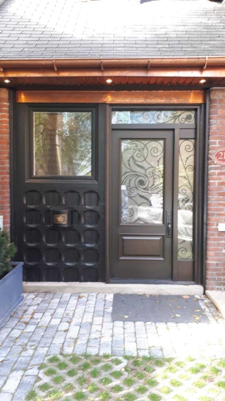 """To know how to do something well is to enjoy it"" #SolidWood, #Doors, #Wood #Mahogany, #CustomMadeDoors, #EntryDoors.#DistinctiveLo­ok, #FityourHome Made by #NorthwoodDoorsInc. Your best value and quality, #HandCraftedDoors. Every door #Manifactured by us has our corporate stamp - a testament to our dedication and passion in #Woodwork. Let #NorthwoodDoorsInc. add to your home's #CurbAppeal by enhancing the quality and beauty of your #EntryDoors. Visit our #Showroom to envision how one of our many #doors on display might look like at your #Home. Contact us today Tel. 416-253-2034, info@northwooddoors.com, www.northwooddoor.com — in Toronto, Ontario"