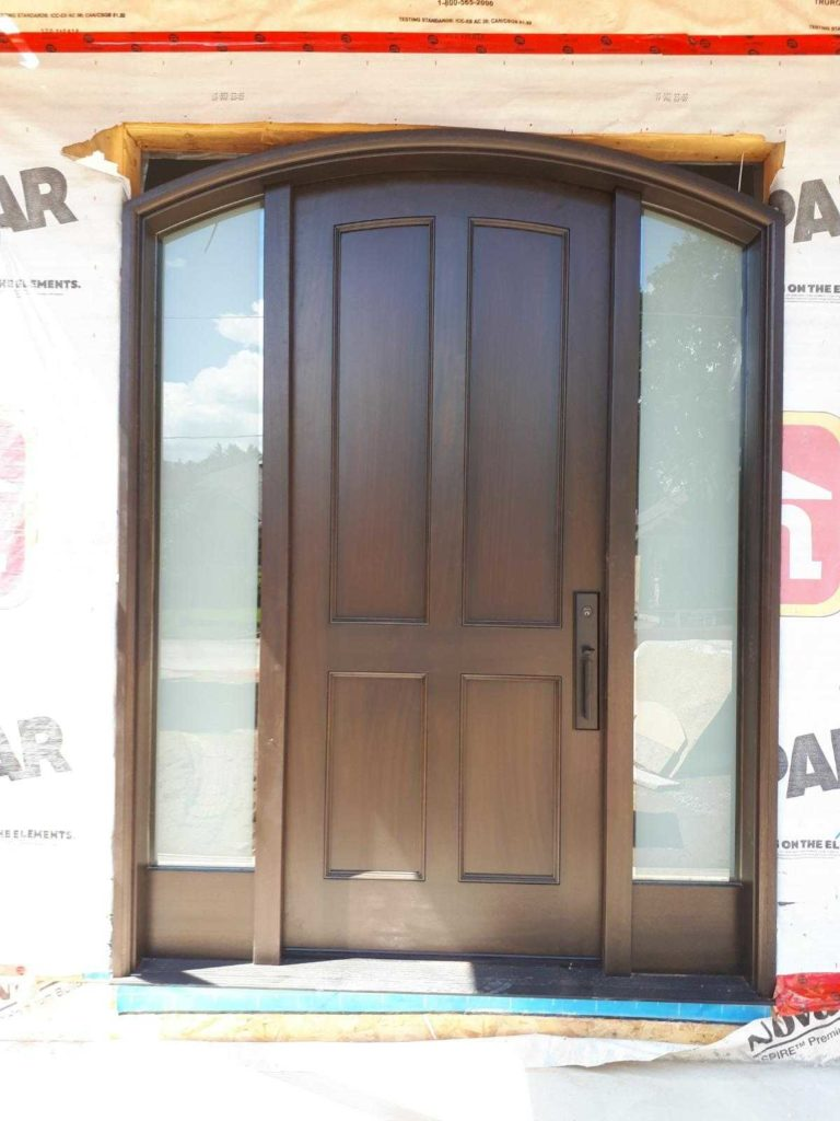 """Simplicity carried to an extreme becomes elegance"" #SolidWood, #Doors, #Wood #Mahogany, #CustomMadeDoors, #EntryDoors.#DistinctiveLo­ok, #FityourHome Made by #NorthwoodDoorsInc. Your best value and quality, #HandCraftedDoors. Every door #Manifactured by us has our corporate stamp - a testament to our dedication and passion in #Woodwork. Let #NorthwoodDoorsInc. add to your home's #CurbAppeal by enhancing the quality and beauty of your #EntryDoors. Visit our #Showroom to envision how one of our many #doors on display might look like at your #Home. Contact us today Tel. 416-253-2034, info@northwooddoors.com, www.northwooddoor.com — in Toronto, Ontario"