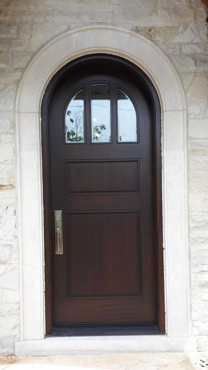 """Elegance is the balance between proportion, emotion and surprise"" #SolidWood, #Doors, #Wood #Mahogany, #CustomMadeDoors, #EntryDoors.#DistinctiveLo­ok, #FityourHome Made by #NorthwoodDoorsInc. Your best value and quality, #HandCraftedDoors. Every door #Manifactured by us has our corporate stamp - a testament to our dedication and passion in #Woodwork. Let #NorthwoodDoorsInc. add to your home's #CurbAppeal by enhancing the quality and beauty of your #EntryDoors. Visit our #Showroom to envision how one of our many #doors on display might look like at your #Home. Contact us today Tel. 416-253-2034, info@northwooddoors.com, www.northwooddoor.com — in Toronto, Ontario"