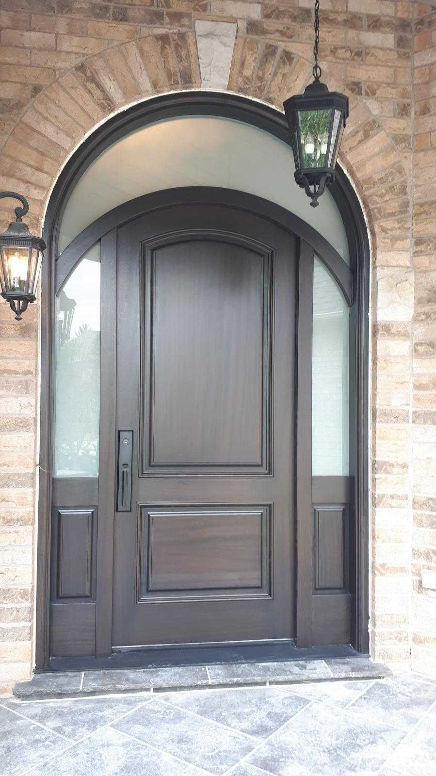 """""""Optimism is the faith that leads to achievement"""" #SolidWood, #Doors, #Wood #Mahogany, #CustomMadeDoors, #EntryDoors.#DistinctiveLook, #FityourHome Made by #NorthwoodDoorsInc. Your best value and quality, #HandCraftedDoors. Every door #Manifactured by us has our corporate stamp - a testament to our dedication and passion in #Woodwork. Let #NorthwoodDoorsInc. add to your home's #CurbAppeal by enhancing the quality and beauty of your #EntryDoors. Visit our #Showroom to envision how one of our many #doors on display might look like at your #Home. Contact us today Tel. 416-253-2034, info@northwooddoors.com, www.northwooddoor.com — in Toronto, Ontario"""
