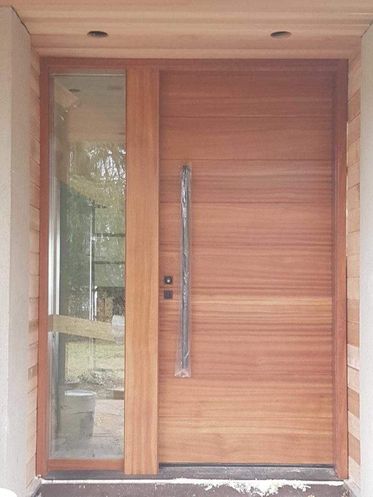 """The best creativity is the result of good habits"" #SolidWoodDoors, #Mahogany, #CustomMade, #CustomWoodDoors,#EntryDoors.#DistinctiveLo­ok, #FityourHome Made by #NorthwoodDoorsInc. Your best value and #QualityDoors, #HandCraftedDoors. Every door #ManufacturedDoors by us has our corporate stamp - a testament to our dedication and passion in #Woodwork. Let #NorthwoodDoorsInc. add to your home's #CurbAppeal by enhancing the quality and beauty of your #EntryDoor. #MadeinCanada Visit our #Showroom to envision how one of our many doors on display might look like at your home. Contact us today Tel. 416-253-2034, info@northwooddoors.com, www.northwooddoor.com — Toronto"