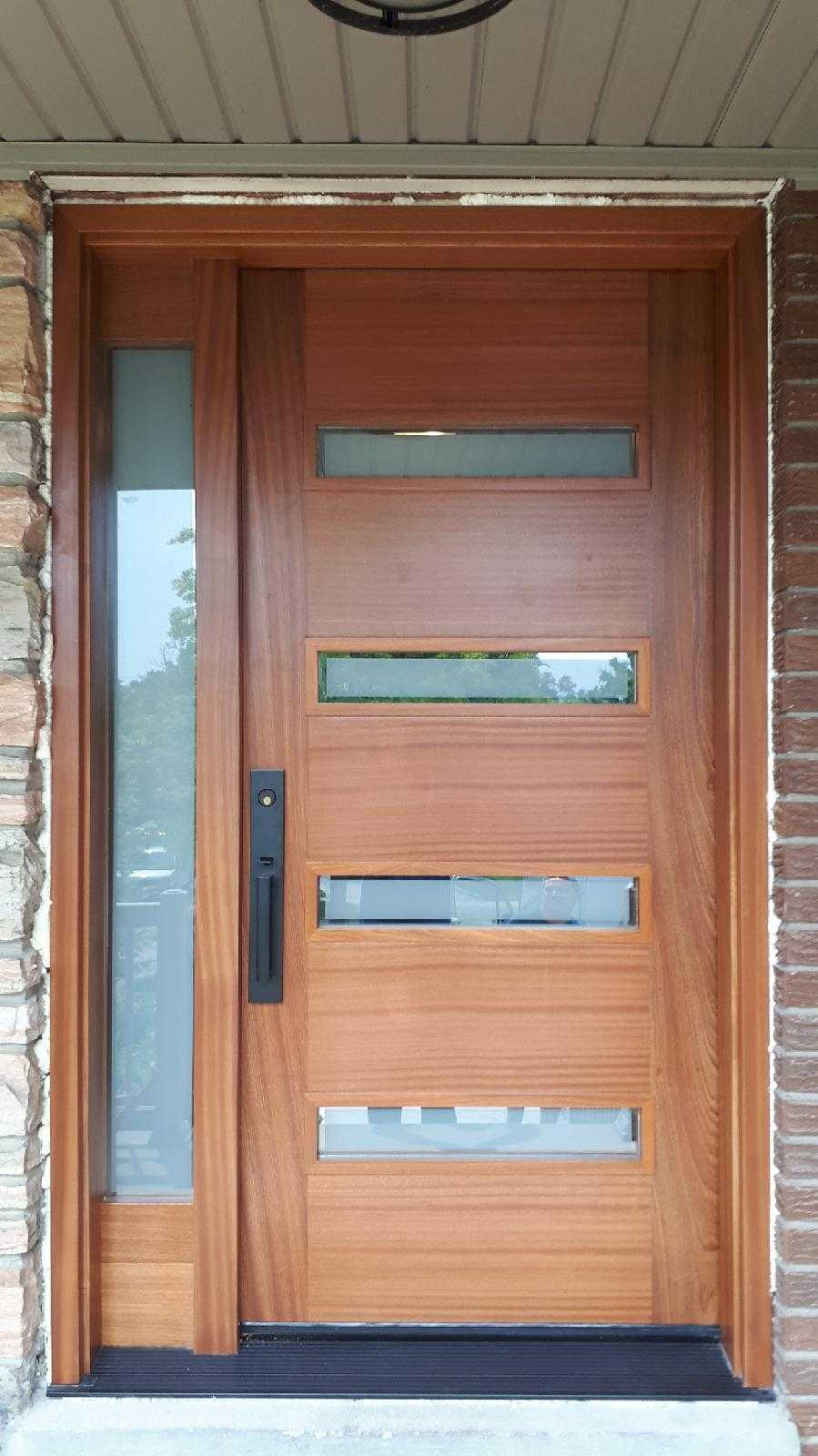 """We are what we repeatedly do. Excellence, then is not an act, but a habit"" #SolidWoodDoors, #Mahogany, #CustomMade, #CustomWoodDoors,#EntryDoors.#DistinctiveLo­ok, #FityourHome Made by #NorthwoodDoorsInc. Your best value and #QualityDoors, #HandCraftedDoors. Every door #ManufacturedDoors by us has our corporate stamp - a testament to our dedication and passion in #Woodwork. Let #NorthwoodDoorsInc. add to your home's #CurbAppeal by enhancing the quality and beauty of your #EntryDoor. #MadeinCanada Visit our #Showroom to envision how one of our many doors on display might look like at your home. Contact us today Tel. 416-253-2034, info@northwooddoors.com, www.northwooddoor.com"