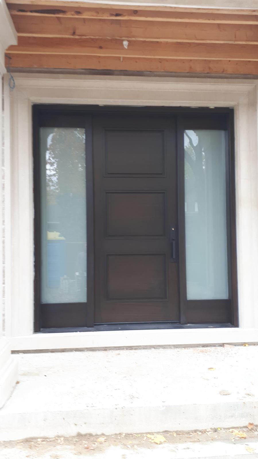 """Quality is never an accident, it is always the result of intelligent effort"" #SolidWood, #Doors, #Wood #Mahogany, #CustomMadeDoors, #EntryDoors.#DistinctiveLo­ok, #FityourHome Made by #NorthwoodDoorsInc. Your best value and quality, #HandCraftedDoors. Every door #Manifactured by us has our corporate stamp - a testament to our dedication and passion in #Woodwork. Let #NorthwoodDoorsInc. add to your home's #CurbAppeal by enhancing the quality and beauty of your #EntryDoors. Visit our #Showroom to envision how one of our many #doors on display might look like at your #Home. Contact us today Tel. 416-253-2034, info@northwooddoors.com, www.northwooddoor.com — in Toronto, Ontario"
