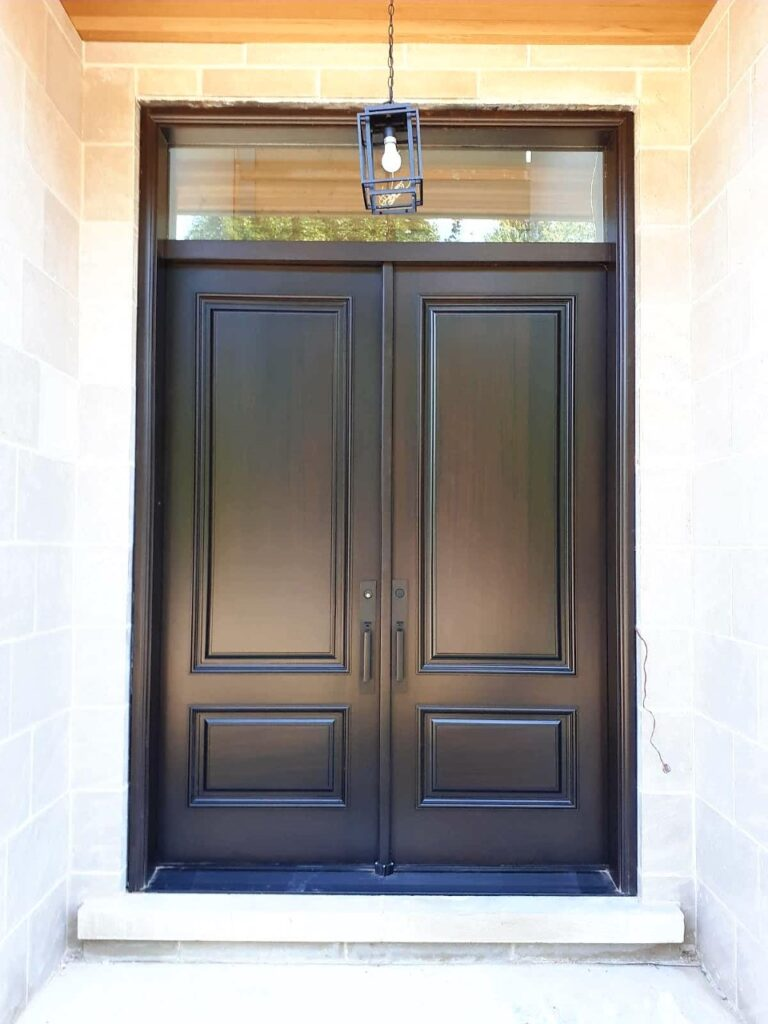 """"""" Elegance is not about being noticed, it's about being remembered."""" #SolidWood, #Doors, #Wood, #Mahogany, #CustomMadeDoors, #DoorSupplier, #ExteriorDoors, #InteriorDoors #DoorManufacturer, #EntryDoors. #Woodwork, #MadeinCanada, #DistinctiveLook, #FityourHome Made by #NorthwoodDoorsInc. Your best value and quality, #HandCraftedDoors. Every door manufactured by us has our corporate stamp - a testament to our dedication and passion in woodwork. Let #NorthwoodDoorsInc. add to your home's #CurbAppeal by enhancing the quality and beauty of your #EntryDoors. Visit our #Showroom to envision how one of our many #doors on display might look like at your #Home. Contact us today Tel. 416-253-2034, info@northwooddoors.com, www.northwooddoor.com — in Toronto, Ontario"""