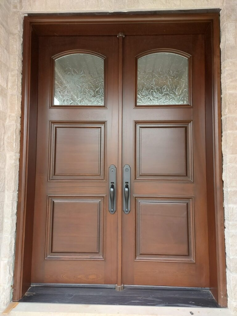 """""""Love of beauty is taste. The creation of beauty is art."""" #SolidWood, #Doors, #Wood, #Mahogany, #CustomMadeDoors, #DoorSupplier, #ExteriorDoors, #InteriorDoors #DoorManufacturer, #EntryDoors. #Woodwork, #MadeinCanada, #DistinctiveLook, #FityourHome Made by #NorthwoodDoorsInc. Your best value and quality, #HandCraftedDoors. Every door manufactured by us has our corporate stamp - a testament to our dedication and passion in woodwork. Let #NorthwoodDoorsInc. add to your home's #CurbAppeal by enhancing the quality and beauty of your #EntryDoors. Visit our #Showroom to envision how one of our many #doors on display might look like at your #Home. Contact us today Tel. 416-253-2034, info@northwooddoors.com, www.northwooddoor.com — in Toronto, Ontario"""