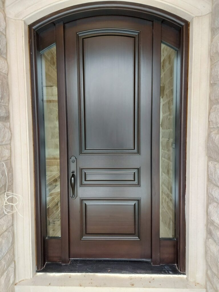 """""""Opportunities don't happen, you create them."""" #SolidWood, #Doors, #Wood, #Mahogany, #CustomMadeDoors, #DoorSupplier, #ExteriorDoors, #InteriorDoors #DoorManufacturer, #EntryDoors. #Woodwork, #MadeinCanada, #DistinctiveLook, #FityourHome Made by #NorthwoodDoorsInc. Your best value and quality, #HandCraftedDoors. Every door manufactured by us has our corporate stamp - a testament to our dedication and passion in woodwork. Let #NorthwoodDoorsInc. add to your home's #CurbAppeal by enhancing the quality and beauty of your #EntryDoors. Visit our #Showroom to envision how one of our many #doors on display might look like at your #Home.#interiordoor, #millwork #trim, #baseboard, #moulding, #doorstop, #doorjamb. Contact us today Tel. 416-253-2034, info@northwooddoors.com, www.northwooddoor.com — in Toronto, Ontario"""