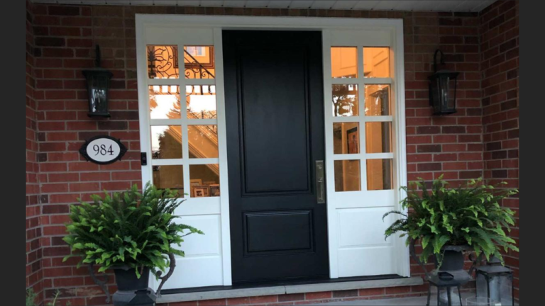 """Black and white is mix of toughest simpliciity and easiest complexity"" #SolidWood, #Doors, #Wood #Mahogany, #CustomMadeDoors, #EntryDoors.#DistinctiveLo­ok, #FityourHome Made by #NorthwoodDoorsInc. Your best value and quality, #HandCraftedDoors. Every door #Manifactured by us has our corporate stamp - a testament to our dedication and passion in #Woodwork. Let #NorthwoodDoorsInc. add to your home's #CurbAppeal by enhancing the quality and beauty of your #EntryDoors. Visit our #Showroom to envision how one of our many #doors on display might look like at your #Home. Contact us today Tel. 416-253-2034, info@northwooddoors.com, www.northwooddoor.com — in Toronto, Ontario"