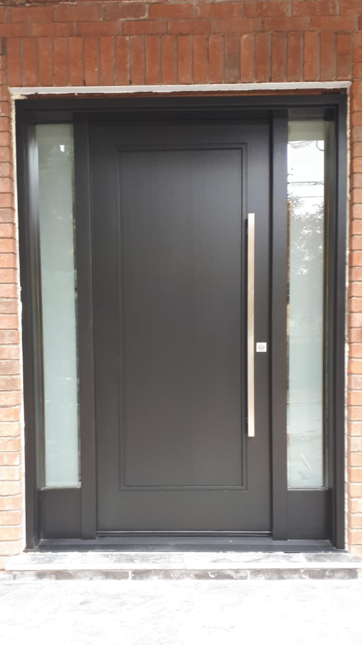 """""""A satisfied customer is the best business strategy of all"""" #SolidWood, #Doors, #Wood #Mahogany, #CustomMadeDoors, #EntryDoors.#DistinctiveLook, #FityourHome Made by #NorthwoodDoorsInc. Your best value and quality, #HandCraftedDoors. Every door #Manifactured by us has our corporate stamp - a testament to our dedication and passion in #Woodwork. Let #NorthwoodDoorsInc. add to your home's #CurbAppeal by enhancing the quality and beauty of your #EntryDoors. Visit our #Showroom to envision how one of our many #doors on display might look like at your #Home. Contact us today Tel. 416-253-2034, info@northwooddoors.com, www.northwooddoor.com — in Toronto, Ontario"""