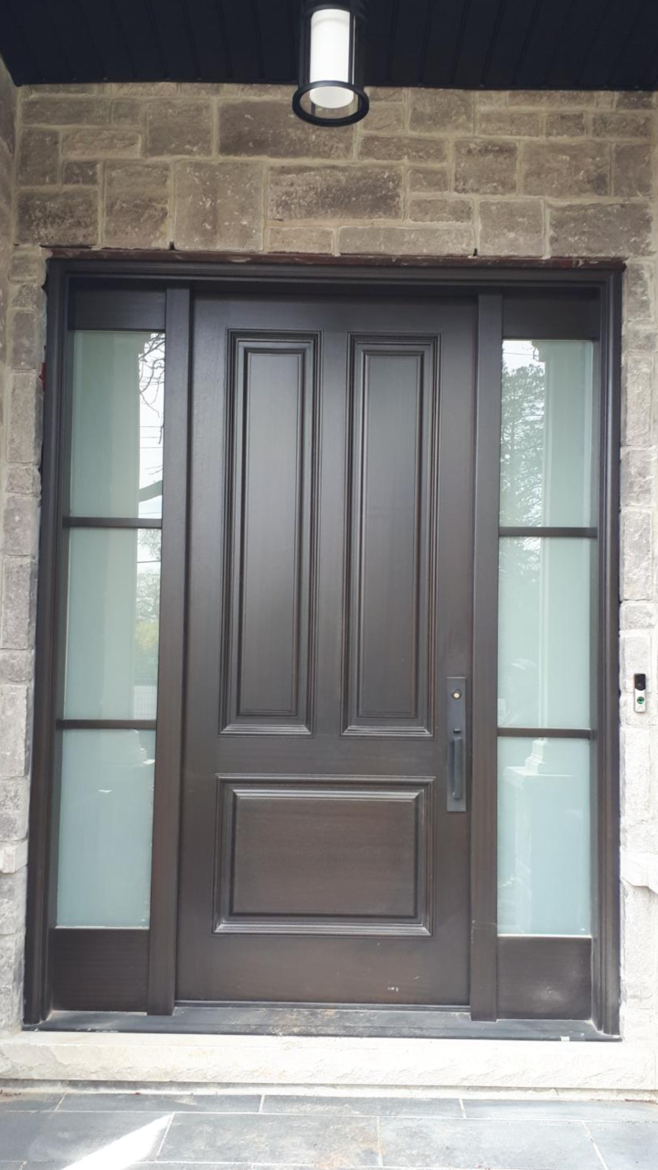 """Discipline is consistency of action."" #SolidWood, #Doors, #Wood, #Mahogany, #CustomMadeDoors, #DoorSupplier, #ExteriorDoors, #InteriorDoors #DoorManufacturer, #EntryDoors. #Woodwork, #MadeinCanada, #DistinctiveLo­ok, #FityourHome Made by #NorthwoodDoorsInc. Your best value and quality, #HandCraftedDoors. Every door manufactured by us has our corporate stamp - a testament to our dedication and passion in woodwork. Let #NorthwoodDoorsInc. add to your home's #CurbAppeal by enhancing the quality and beauty of your #EntryDoors. Visit our #Showroom to envision how one of our many #doors on display might look like at your #Home. Contact us today Tel. 416-253-2034, info@northwooddoors.com, www.northwooddoor.com — in Toronto, Ontario"