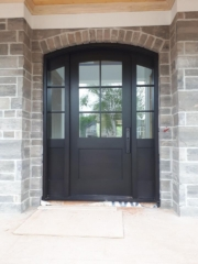 """""""Ambition is the incentive that makes purpose great and achievement greater"""" #SolidWood, #Doors, #Wood, #Mahogany, #CustomMadeDoors, #DoorSupplier, #ExteriorDoors, #InteriorDoors #DoorManufacturer, #EntryDoors. #Woodwork, #MadeinCanada, #DistinctiveLook, #FityourHome Made by #NorthwoodDoorsInc. Your best value and quality, #HandCraftedDoors. Every door manufactured by us has our corporate stamp - a testament to our dedication and passion in woodwork. Let #NorthwoodDoorsInc. add to your home's #CurbAppeal by enhancing the quality and beauty of your #EntryDoors. Visit our #Showroom to envision how one of our many #doors on display might look like at your #Home. Contact us today Tel. 416-253-2034, info@northwooddoors.com, www.northwooddoor.com — in Toronto, Ontario"""