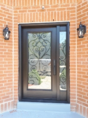"""""""Geometry is nothing at all if not a branch of art"""" #SolidWood, #Doors, #Wood, #Mahogany, #CustomMadeDoors, #DoorSupplier, #ExteriorDoors, #InteriorDoors #DoorManufacturer, #EntryDoors. #Woodwork, #MadeinCanada, #DistinctiveLook, #FityourHome Made by #NorthwoodDoorsInc. Your best value and quality, #HandCraftedDoors. Every door manufactured by us has our corporate stamp - a testament to our dedication and passion in woodwork. Let #NorthwoodDoorsInc. add to your home's #CurbAppeal by enhancing the quality and beauty of your #EntryDoors. Visit our #Showroom to envision how one of our many #doors on display might look like at your #Home. Contact us today Tel. 416-253-2034, info@northwooddoors.com, www.northwooddoor.com — in Toronto, Ontario"""