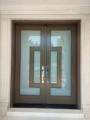 """""""Design is a plan for arranging elements in such a way as best to accomplish a particular purpose."""" #SolidWood, #Doors, #Wood, #Mahogany, #CustomMadeDoors, #DoorSupplier, #ExteriorDoors, #InteriorDoors #DoorManufacturer, #EntryDoors. #Woodwork, #MadeinCanada, #DistinctiveLook, #FityourHome Made by #NorthwoodDoorsInc. Your best value and quality, #HandCraftedDoors. Every door manufactured by us has our corporate stamp - a testament to our dedication and passion in woodwork. Let #NorthwoodDoorsInc. add to your home's #CurbAppeal by enhancing the quality and beauty of your #EntryDoors. Visit our #Showroom to envision how one of our many #doors on display might look like at your #Home. Contact us today Tel. 416-253-2034, info@northwooddoors.com, www.northwooddoor.com — in Toronto, Ontario"""