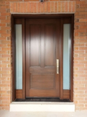 """""""If you want to be taken seriously be consistent."""" #SolidWood, #Doors, #Wood, #Mahogany, #CustomMadeDoors, #DoorSupplier, #ExteriorDoors, #InteriorDoors #DoorManufacturer, #EntryDoors. #Woodwork, #MadeinCanada, #DistinctiveLook, #FityourHome Made by #NorthwoodDoorsInc. Your best value and quality, #HandCraftedDoors. Every door manufactured by us has our corporate stamp - a testament to our dedication and passion in woodwork. Let #NorthwoodDoorsInc. add to your home's #CurbAppeal by enhancing the quality and beauty of your #EntryDoors. Visit our #Showroom to envision how one of our many #doors on display might look like at your #Home. Contact us today Tel. 416-253-2034, info@northwooddoors.com, www.northwooddoor.com — in Toronto, Ontario"""