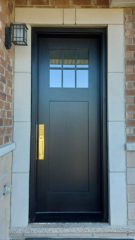 """""""In order to be irreplaceable one must always be different."""" #SolidWood, #Doors, #Wood, #Mahogany, #CustomMadeDoors, #DoorSupplier, #ExteriorDoors, #InteriorDoors #DoorManufacturer, #EntryDoors. #Woodwork, #MadeinCanada, #DistinctiveLook, #FityourHome Made by #NorthwoodDoorsInc. Your best value and quality, #HandCraftedDoors. Every door manufactured by us has our corporate stamp - a testament to our dedication and passion in woodwork. Let #NorthwoodDoorsInc. add to your home's #CurbAppeal by enhancing the quality and beauty of your #EntryDoors. Visit our #Showroom to envision how one of our many #doors on display might look like at your #Home. Contact us today Tel. 416-253-2034, info@northwooddoors.com, www.northwooddoor.com — in Toronto, Ontario"""