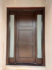 """""""Success usually comes to those who are to busy to be looking for it."""" #SolidWood, #Doors, #Wood, #Mahogany, #CustomMadeDoors, #DoorSupplier, #ExteriorDoors, #InteriorDoors #DoorManufacturer, #EntryDoors. #Woodwork, #MadeinCanada, #DistinctiveLook, #FityourHome Made by #NorthwoodDoorsInc. Your best value and quality, #HandCraftedDoors. Every door manufactured by us has our corporate stamp - a testament to our dedication and passion in woodwork. Let #NorthwoodDoorsInc. add to your home's #CurbAppeal by enhancing the quality and beauty of your #EntryDoors. Visit our #Showroom to envision how one of our many #doors on display might look like at your #Home. Contact us today Tel. 416-253-2034, info@northwooddoors.com, www.northwooddoor.com — in Toronto, Ontario"""
