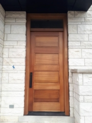 """""""It is the harmony of the diverse parts that permits us to see the ensemble and the details."""" #SolidWood, #Doors, #Wood #Mahogany, #CustomMadeDoors, #EntryDoors.#DistinctiveLook, #FityourHome Made by #NorthwoodDoorsInc. Your best value and quality, #HandCraftedDoors. Every door #Manifactured by us has our corporate stamp - a testament to our dedication and passion in #Woodwork. Let #NorthwoodDoorsInc. add to your home's #CurbAppeal by enhancing the quality and beauty of your #EntryDoors. Visit our #Showroom to envision how one of our many #doors on display might look like at your #Home. Contact us today Tel. 416-253-2034, info@northwooddoors.com, www.northwooddoor.com — in Toronto, Ontario"""