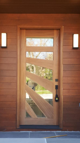 """There are 360 degrees, so why stick to one."" #SolidWood, #Doors, #Wood, #Mahogany, #CustomMadeDoors, #DoorSupplier, #ExteriorDoors, #InteriorDoors #DoorManufacturer, #EntryDoors. #Woodwork, #MadeinCanada, #DistinctiveLo­ok, #FityourHome Made by #NorthwoodDoorsInc. Your best value and quality, #HandCraftedDoors. Every door manufactured by us has our corporate stamp - a testament to our dedication and passion in woodwork. Let #NorthwoodDoorsInc. add to your home's #CurbAppeal by enhancing the quality and beauty of your #EntryDoors. Visit our #Showroom to envision how one of our many #doors on display might look like at your #Home. Contact us today Tel. 416-253-2034, info@northwooddoors.com, www.northwooddoor.com — in Toronto, Ontario"