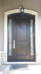 """""""Productivity is never an accident. It is always the result of a commitment to excellence, intelligent planning and focused effort."""" #SolidWoodDoors, #Mahogany, #CustomMade, #CustomWoodDoors,#EntryDoors.#DistinctiveLook, #FityourHome Made by #NorthwoodDoorsInc. Your best value and #QualityDoors, #HandCraftedDoors. Every door #ManufacturedDoors by us has our corporate stamp - a testament to our dedication and passion in #Woodwork. Let #NorthwoodDoorsInc. add to your home's #CurbAppeal by enhancing the quality and beauty of your #EntryDoor. #MadeinCanada Visit our #Showroom to envision how one of our many doors on display might look like at your home. Contact us today Tel. 416-253-2034, info@northwooddoors.com, www.northwooddoor.com, #Toronto, #Canada"""