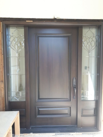 """""""Elegance does not catch the eyes, it stays in memory"""" #SolidWood, #Doors, #Wood #Mahogany, #CustomMadeDoors, #EntryDoors.#DistinctiveLook, #FityourHome Made by #NorthwoodDoorsInc. Your best value and quality, #HandCraftedDoors. Every door #Manifactured by us has our corporate stamp - a testament to our dedication and passion in #Woodwork. Let #NorthwoodDoorsInc. add to your home's #CurbAppeal by enhancing the quality and beauty of your #EntryDoors. Visit our #Showroom to envision how one of our many #doors on display might look like at your #Home. Contact us today Tel. 416-253-2034, info@northwooddoors.com, www.northwooddoor.com"""