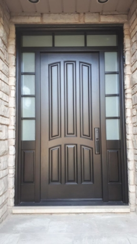 """Work hard in silence let success be your noise"" #SolidWood, #Doors, #Wood #Mahogany, #CustomMadeDoors, #EntryDoors.#DistinctiveLo­ok, #FityourHome Made by #NorthwoodDoorsInc. Your best value and quality, #HandCraftedDoors. Every door #Manifactured by us has our corporate stamp - a testament to our dedication and passion in #Woodwork. Let #NorthwoodDoorsInc. add to your home's #CurbAppeal by enhancing the quality and beauty of your #EntryDoors. Visit our #Showroom to envision how one of our many #doors on display might look like at your #Home. Contact us today Tel. 416-253-2034, info@northwooddoors.com, www.northwooddoor.com — in Toronto, Ontario"