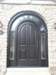"""""""It's attention to detail that makes the difference between average and stunning"""" #SolidWood, #Doors, #Wood #Mahogany, #CustomMadeDoors, #EntryDoors.#DistinctiveLook, #FityourHome Made by #NorthwoodDoorsInc. Your best value and quality, #HandCraftedDoors. Every door #Manifactured by us has our corporate stamp - a testament to our dedication and passion in #Woodwork. Let #NorthwoodDoorsInc. add to your home's #CurbAppeal by enhancing the quality and beauty of your #EntryDoors. Visit our #Showroom to envision how one of our many #doors on display might look like at your #Home. Contact us today Tel. 416-253-2034, info@northwooddoors.com, www.northwooddoor.com — in Toronto, Ontario"""