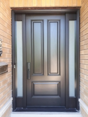 """""""Motivation gets you going, but, discipline keeps you growing"""" #SolidWood, #Doors, #Wood, #Mahogany, #CustomMadeDoors, #DoorSupplier, #ExteriorDoors, #InteriorDoors #DoorManufacturer, #EntryDoors. #Woodwork, #MadeinCanada, #DistinctiveLook, #FityourHome Made by #NorthwoodDoorsInc. Your best value and quality, #HandCraftedDoors. Every door manufactured by us has our corporate stamp - a testament to our dedication and passion in woodwork. Let #NorthwoodDoorsInc. add to your home's #CurbAppeal by enhancing the quality and beauty of your #EntryDoors. Visit our #Showroom to envision how one of our many #doors on display might look like at your #Home. Contact us today Tel. 416-253-2034, info@northwooddoors.com, www.northwooddoor.com — in Toronto, Ontario"""