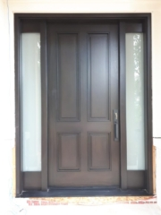 """""""The road to the success is always under construction"""" #SolidWood, #Doors, #Wood, #Mahogany, #CustomMadeDoors, #DoorSupplier, #ExteriorDoors, #InteriorDoors #DoorManufacturer, #EntryDoors. #Woodwork, #MadeinCanada, #DistinctiveLook, #FityourHome Made by #NorthwoodDoorsInc. Your best value and quality, #HandCraftedDoors. Every door manufactured by us has our corporate stamp - a testament to our dedication and passion in woodwork. Let #NorthwoodDoorsInc. add to your home's #CurbAppeal by enhancing the quality and beauty of your #EntryDoors. Visit our #Showroom to envision how one of our many #doors on display might look like at your #Home. Contact us today Tel. 416-253-2034, info@northwooddoors.com, www.northwooddoor.com — in Toronto, Ontario"""