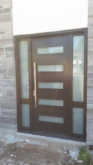 """""""Discipline is the bridge between goals and accomplishment"""" #SolidWood, #Doors, #Wood #Mahogany, #CustomMadeDoors, #EntryDoors.#DistinctiveLook, #FityourHome Made by #NorthwoodDoorsInc. Your best value and quality, #HandCraftedDoors. Every door #Manifactured by us has our corporate stamp - a testament to our dedication and passion in #Woodwork. Let #NorthwoodDoorsInc. add to your home's #CurbAppeal by enhancing the quality and beauty of your #EntryDoors. Visit our #Showroom to envision how one of our many #doors on display might look like at your #Home. Contact us today Tel. 416-253-2034, info@northwooddoors.com, www.northwooddoor.com — in Toronto, Ontario"""