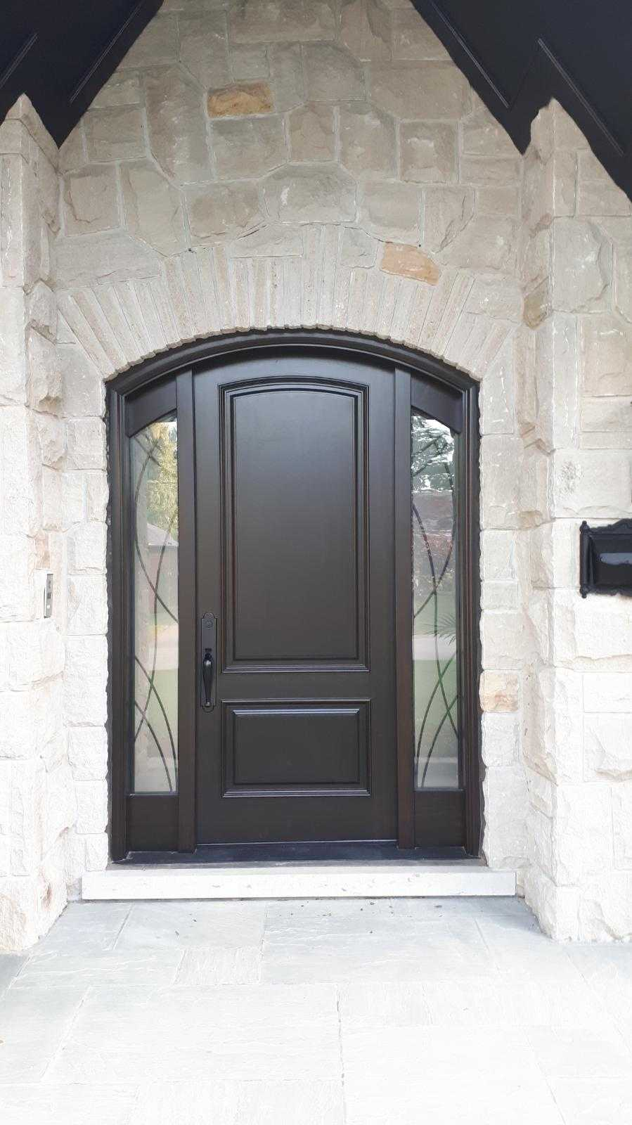 """No great thing is created suddenly."" #SolidWood, #Doors, #Wood #Mahogany, #CustomMadeDoors, #EntryDoors.#DistinctiveLo­ok, #FityourHome Made by #NorthwoodDoorsInc. Your best value and quality, #HandCraftedDoors. Every door #Manifactured by us has our corporate stamp - a testament to our dedication and passion in #Woodwork. Let #NorthwoodDoorsInc. add to your home's #CurbAppeal by enhancing the quality and beauty of your #EntryDoors. Visit our #Showroom to envision how one of our many #doors on display might look like at your #Home. Contact us today Tel. 416-253-2034, info@northwooddoors.com, www.northwooddoor.com — in Toronto, Ontario"