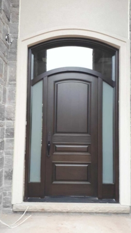 """""""Incredible things can be done simply if we are comitted to making them happen."""" #SolidWood, #Doors, #Wood #Mahogany, #CustomMadeDoors, #EntryDoors.#DistinctiveLook, #FityourHome Made by #NorthwoodDoorsInc. Your best value and quality, #HandCraftedDoors. Every door #Manifactured by us has our corporate stamp - a testament to our dedication and passion in #Woodwork. Let #NorthwoodDoorsInc. add to your home's #CurbAppeal by enhancing the quality and beauty of your #EntryDoors. Visit our #Showroom to envision how one of our many #doors on display might look like at your #Home. Contact us today Tel. 416-253-2034, info@northwooddoors.com, www.northwooddoor.com — in Toronto, Ontario"""