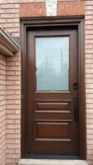 """""""The art of simplicity is a puzzle of complexity""""  #SolidWood, #Doors, #Wood #Mahogany, #CustomMadeDoors, #EntryDoors.#DistinctiveLook, #FityourHome Made by #NorthwoodDoorsInc. Your best value and quality, #HandCraftedDoors. Every door #Manifactured by us has our corporate stamp - a testament to our dedication and passion in #Woodwork. Let #NorthwoodDoorsInc. add to your home's #CurbAppeal by enhancing the quality and beauty of your #EntryDoors. Visit our #Showroom to envision how one of our many #doors on display might look like at your #Home. Contact us today Tel. 416-253-2034, info@northwooddoors.com, www.northwooddoor.com — in Toronto, Ontario"""