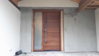 """""""A dream doesn't become reality through magic, it takes determination and hard work"""" #SolidWood, #Doors, #Wood #Mahogany, #CustomMadeDoors, #EntryDoors.#DistinctiveLook, #FityourHome Made by #NorthwoodDoorsInc. Your best value and quality, #HandCraftedDoors. Every door #Manifactured by us has our corporate stamp - a testament to our dedication and passion in #Woodwork. Let #NorthwoodDoorsInc. add to your home's #CurbAppeal by enhancing the quality and beauty of your #EntryDoors. Visit our #Showroom to envision how one of our many #doors on display might look like at your #Home. Contact us today Tel. 416-253-2034, info@northwooddoors.com, www.northwooddoor.com — in Toronto, Ontario."""