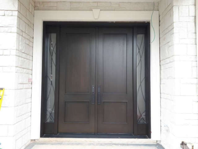 """Never be satisfied with less than your very best effort."" #SolidWood, #Doors, #Wood #Mahogany, #CustomMadeDoors, #EntryDoors.#DistinctiveLo­ok, #FityourHome Made by #NorthwoodDoorsInc. Your best value and quality, #HandCraftedDoors. Every door #Manifactured by us has our corporate stamp - a testament to our dedication and passion in #Woodwork. Let #NorthwoodDoorsInc. add to your home's #CurbAppeal by enhancing the quality and beauty of your #EntryDoors. Visit our #Showroom to envision how one of our many #doors on display might look like at your #Home. Contact us today Tel. 416-253-2034, info@northwooddoors.com, www.northwooddoor.com — in Toronto, Ontario"