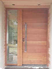 """""""The best creativity is the result of good habits"""" #SolidWoodDoors, #Mahogany, #CustomMade, #CustomWoodDoors,#EntryDoors.#DistinctiveLook, #FityourHome Made by #NorthwoodDoorsInc. Your best value and #QualityDoors, #HandCraftedDoors. Every door #ManufacturedDoors by us has our corporate stamp - a testament to our dedication and passion in #Woodwork. Let #NorthwoodDoorsInc. add to your home's #CurbAppeal by enhancing the quality and beauty of your #EntryDoor. #MadeinCanada Visit our #Showroom to envision how one of our many doors on display might look like at your home. Contact us today Tel. 416-253-2034, info@northwooddoors.com, www.northwooddoor.com — Toronto"""