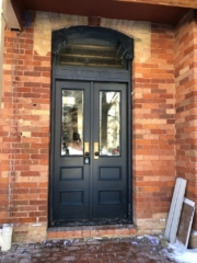 """""""In the fine arts, not imitation, but creation is the aim"""" #SolidWood, #Doors, #Wood #Mahogany, #CustomMadeDoors, #EntryDoors.#DistinctiveLook, #FityourHome Made by #NorthwoodDoorsInc. Your best value and quality, #HandCraftedDoors. Every door #Manifactured by us has our corporate stamp - a testament to our dedication and passion in #Woodwork. Let #NorthwoodDoorsInc. add to your home's #CurbAppeal by enhancing the quality and beauty of your #EntryDoors. Visit our #Showroom to envision how one of our many #doors on display might look like at your #Home. Contact us today Tel. 416-253-2034, info@northwooddoors.com, www.northwooddoor.com — in Toronto, Ontario"""