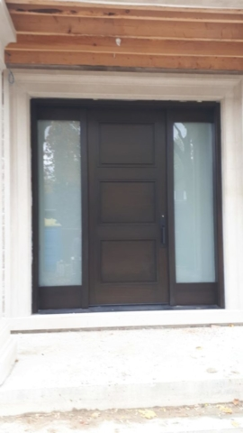 """""""Quality is never an accident, it is always the result of intelligent effort"""" #SolidWood, #Doors, #Wood #Mahogany, #CustomMadeDoors, #EntryDoors.#DistinctiveLook, #FityourHome Made by #NorthwoodDoorsInc. Your best value and quality, #HandCraftedDoors. Every door #Manifactured by us has our corporate stamp - a testament to our dedication and passion in #Woodwork. Let #NorthwoodDoorsInc. add to your home's #CurbAppeal by enhancing the quality and beauty of your #EntryDoors. Visit our #Showroom to envision how one of our many #doors on display might look like at your #Home. Contact us today Tel. 416-253-2034, info@northwooddoors.com, www.northwooddoor.com — in Toronto, Ontario"""