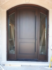 """""""If you can't handle stress, than you will not manage success."""" #SolidWood, #Doors, #Wood, #Mahogany, #CustomMadeDoors, #DoorSupplier, #ExteriorDoors, #InteriorDoors #DoorManufacturer, #EntryDoors. #Woodwork, #MadeinCanada, #DistinctiveLook, #FityourHome Made by #NorthwoodDoorsInc. Your best value and quality, #HandCraftedDoors. Every door manufactured by us has our corporate stamp - a testament to our dedication and passion in woodwork. Let #NorthwoodDoorsInc. add to your home's #CurbAppeal by enhancing the quality and beauty of your #EntryDoors. Visit our #Showroom to envision how one of our many #doors on display might look like at your #Home. Contact us today Tel. 416-253-2034, info@northwooddoors.com, www.northwooddoor.com — in Toronto, Ontario"""