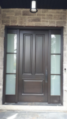 """""""Discipine is consistency of action."""" #SolidWood, #Doors, #Wood, #Mahogany, #CustomMadeDoors, #DoorSupplier, #ExteriorDoors, #InteriorDoors #DoorManufacturer, #EntryDoors. #Woodwork, #MadeinCanada, #DistinctiveLook, #FityourHome Made by #NorthwoodDoorsInc. Your best value and quality, #HandCraftedDoors. Every door manufactured by us has our corporate stamp - a testament to our dedication and passion in woodwork. Let #NorthwoodDoorsInc. add to your home's #CurbAppeal by enhancing the quality and beauty of your #EntryDoors. Visit our #Showroom to envision how one of our many #doors on display might look like at your #Home. Contact us today Tel. 416-253-2034, info@northwooddoors.com, www.northwooddoor.com — in Toronto, Ontario"""